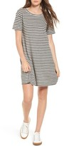 Current/Elliott Women's Stripe Knit T-Shirt Dress