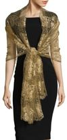 Valentino Scalloped Netted Stole