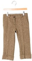 Bonpoint Boys' Wool Herringbone Pants