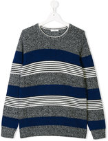 Paolo Pecora Kids Teen striped jumper