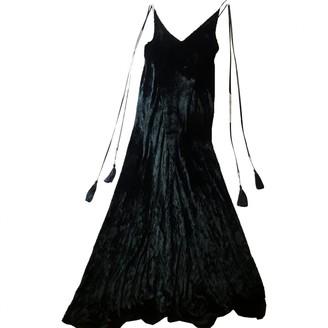 ATTICO Black Suede Dresses