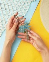 Skinnydip Palm Tree Key Chain