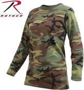 Rothco Womens Long Sleeve Camo T-Shirt - 2X Large