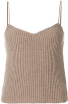 Theory knit cami top - women - Cashmere - XS