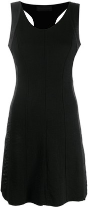 Diesel Black Gold D-AZURILE panelled dress