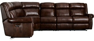 Hooker Furniture Esme Leather Corner Reclining Sectional