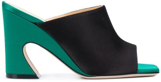 Giannico Curved Heel 100mm Sandals