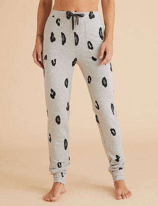 Marks and Spencer Flexifit Lounge Animal Print Cuff Jogger