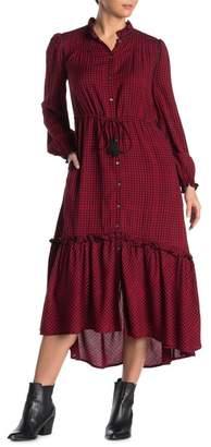 Faherty BRAND Sandia Long Sleeve Midi Dress