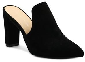 Adrienne Vittadini Women's Nella Heeled Mules Women's Shoes