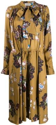 Preen by Thornton Bregazzi Lupin floral dress
