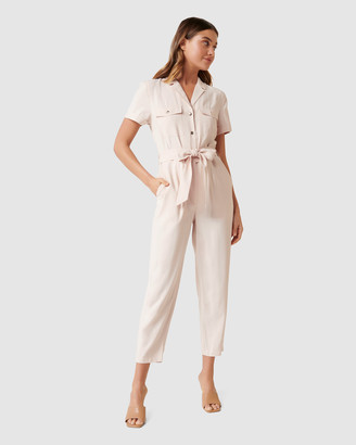 Forever New Zoe Utility Belted Jumpsuit