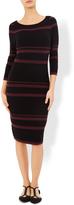 Monsoon Ortal Stripe Knitted Dress
