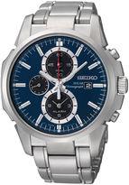 Seiko Silver-Tone Bracelet Watch SSC085