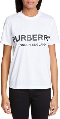 Burberry Logo Print Tee