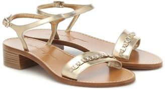 Salvatore Ferragamo Tremiti leather sandals
