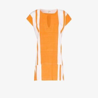 Lemlem Zoya striped cotton tunic