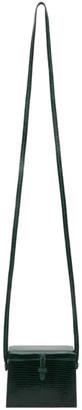 Hunting Season Green The Mini Square Trunk Shoulder Bag