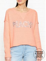 Wildfox Couture Peachy Sweatshirt