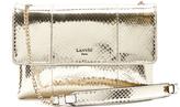 Lanvin Sugar mini snakeskin cross-body bag