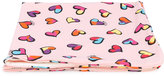Moschino Kids - hearts print towel - kids - Cotton/Spandex/Elastane - One Size