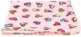 Moschino Kids hearts print towel