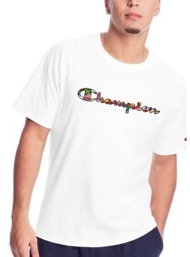 Champion Men's Script Flag T-Shirt
