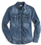 J.Crew J. CREW Washed Western Chambray Shirt