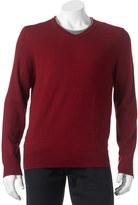 Apt. 9 Big & Tall Modern-Fit Merino V-Neck Sweater