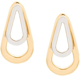 Annelise Michelson medium Double Ellipse earrings