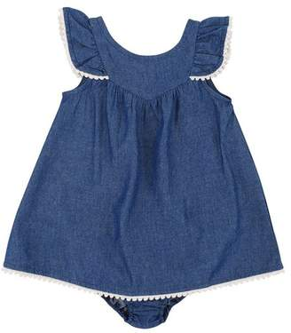 7 For All Mankind Kids Girls 0-9 Dress And Panty Set In White