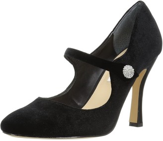 Nina Women's Idette Dress Pump yv-Black Night 6 M US