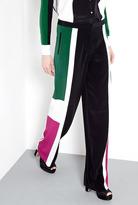 Elizabeth and James Landon Colourblock Wide Leg Trousers