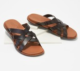 Keen Leather Slip-On Slide Sandals- Sofia