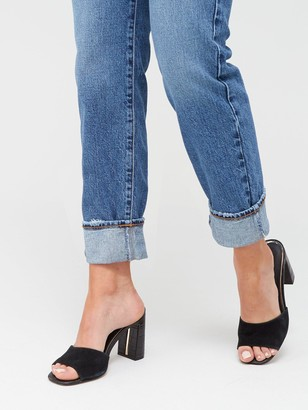 River Island Lolly High Waist Straight Leg Jeans - Mid Authentic