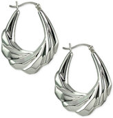 Giani Bernini Dimensional Textured Hoop Earrings, Only at Macy's