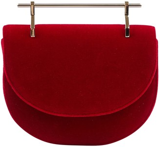 M2Malletier Red Velvet Clutch bags