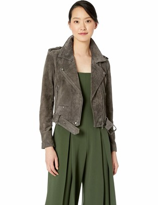 Blank NYC womens Suede Moto Jacket