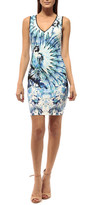 Johanne Beck - Layla - V Neck Dress Style Only Mouse Over For Color Mango Tropics 2Xs 5S 4M 2L