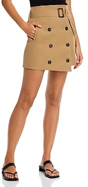 Fore Belted Utility Mini Skirt
