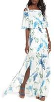 Show Me Your Mumu Women's Nicola Ruffle Maxi Dress