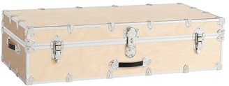 Pottery Barn Teen Natural Birch Trunk with Silver Trim