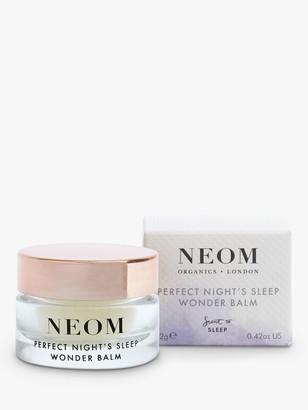 Neom Organics London Perfect Nights Sleep Wonder Balm, 12g