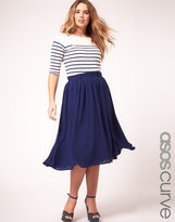Asos Floaty Midi Skirt