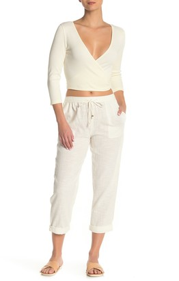 L-Space Andres Cropped Cover-Up Pants