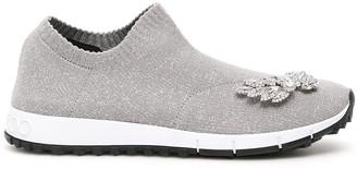 Jimmy Choo Crystal Wings Verona Sock Sneakers