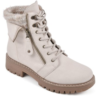 Cliffs by White Mountain Lace-Up Boots - Mandy