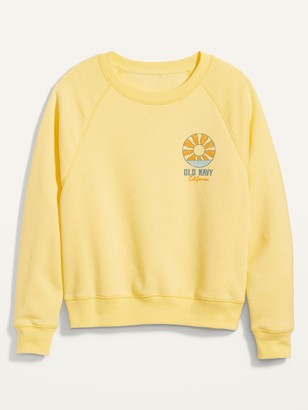 Old Navy Logo-Graphic Crew-Neck Sweatshirt for Women