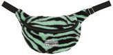Ashley Williams SSENSE Exclusive Green and Black Tiger Pouch