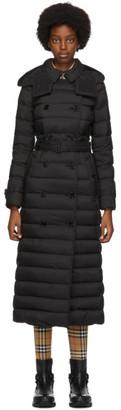 Burberry Black Down Long Arniston Jacket